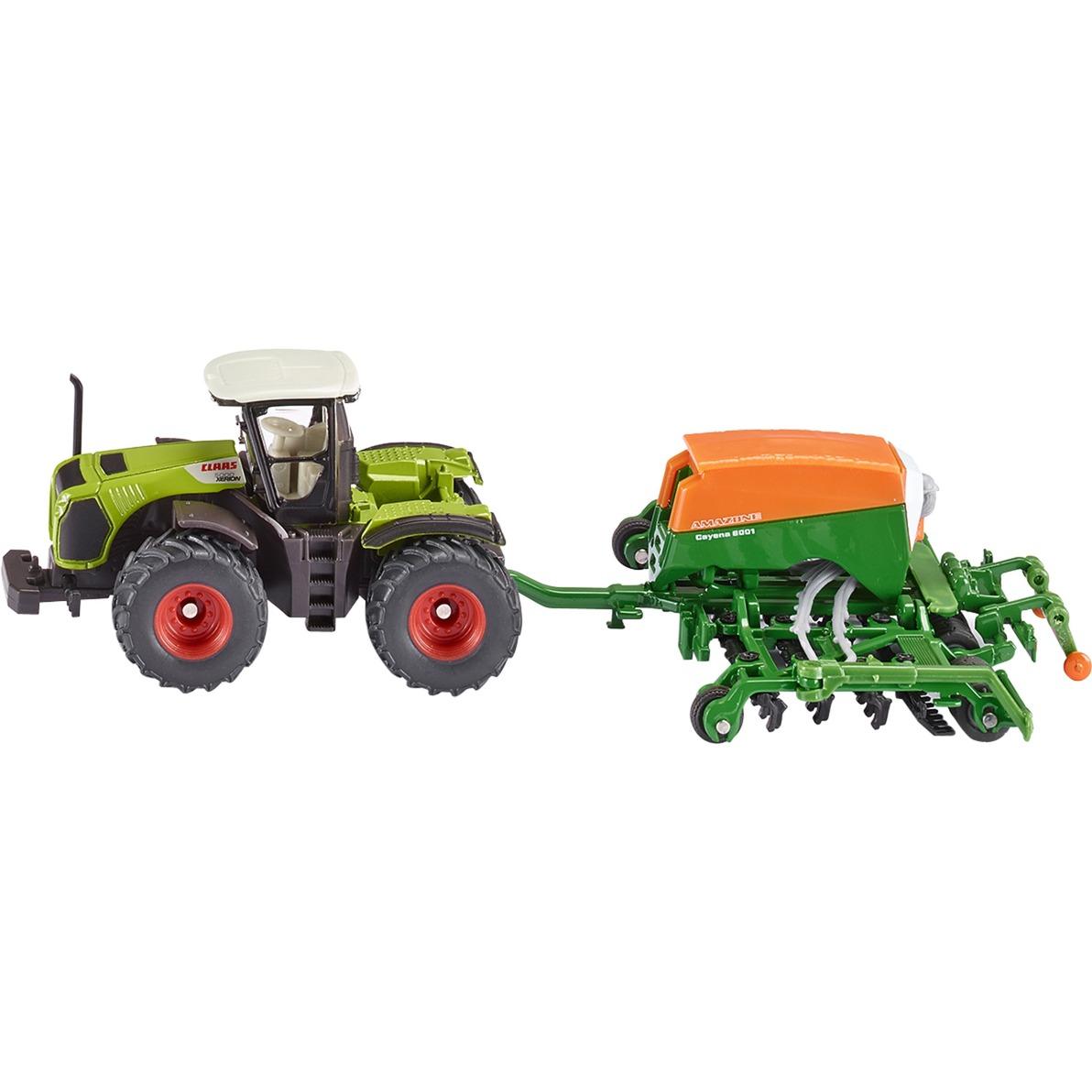 1826 modelo de vehículo de tierra Previamente montado Modelo a escala de tractor 1:87, Automóvil de construcción