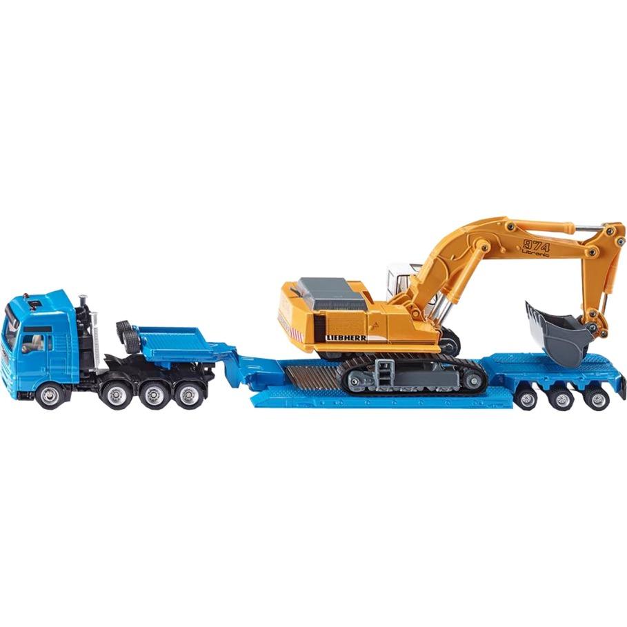 1847 modelo de vehículo de tierra Previamente montado Modelo a escala de camión de transporte pesado 1:87, Automóvil de construcción