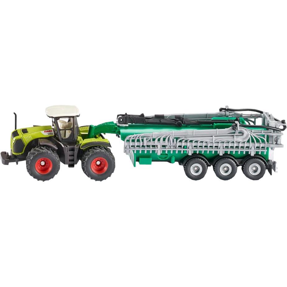 FARMER Claas Xerion with vacuum tank , Automóvil de construcción