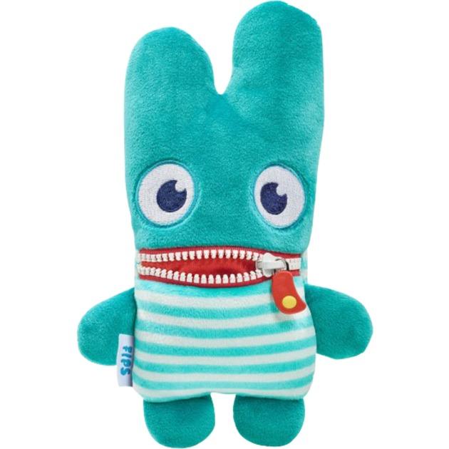 42357 juguete de peluche Monstruo Verde, Blanco Felpa, Peluches