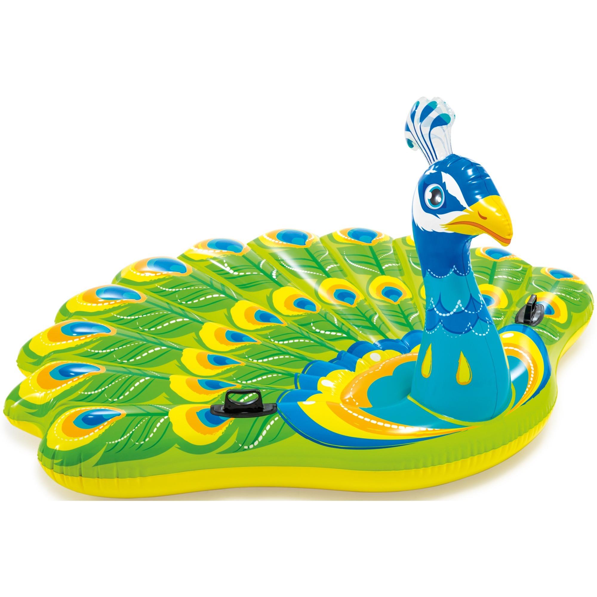 57250 flotador para piscina y playa Multicolor Isla flotante, Animal flotante