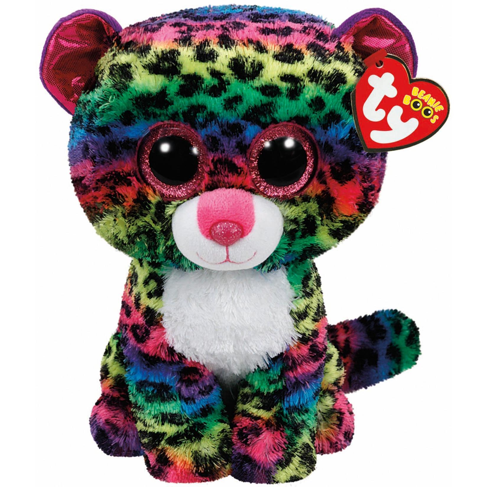 Beanie Boos - Leopardo Dotty - Peluche 23 cm
