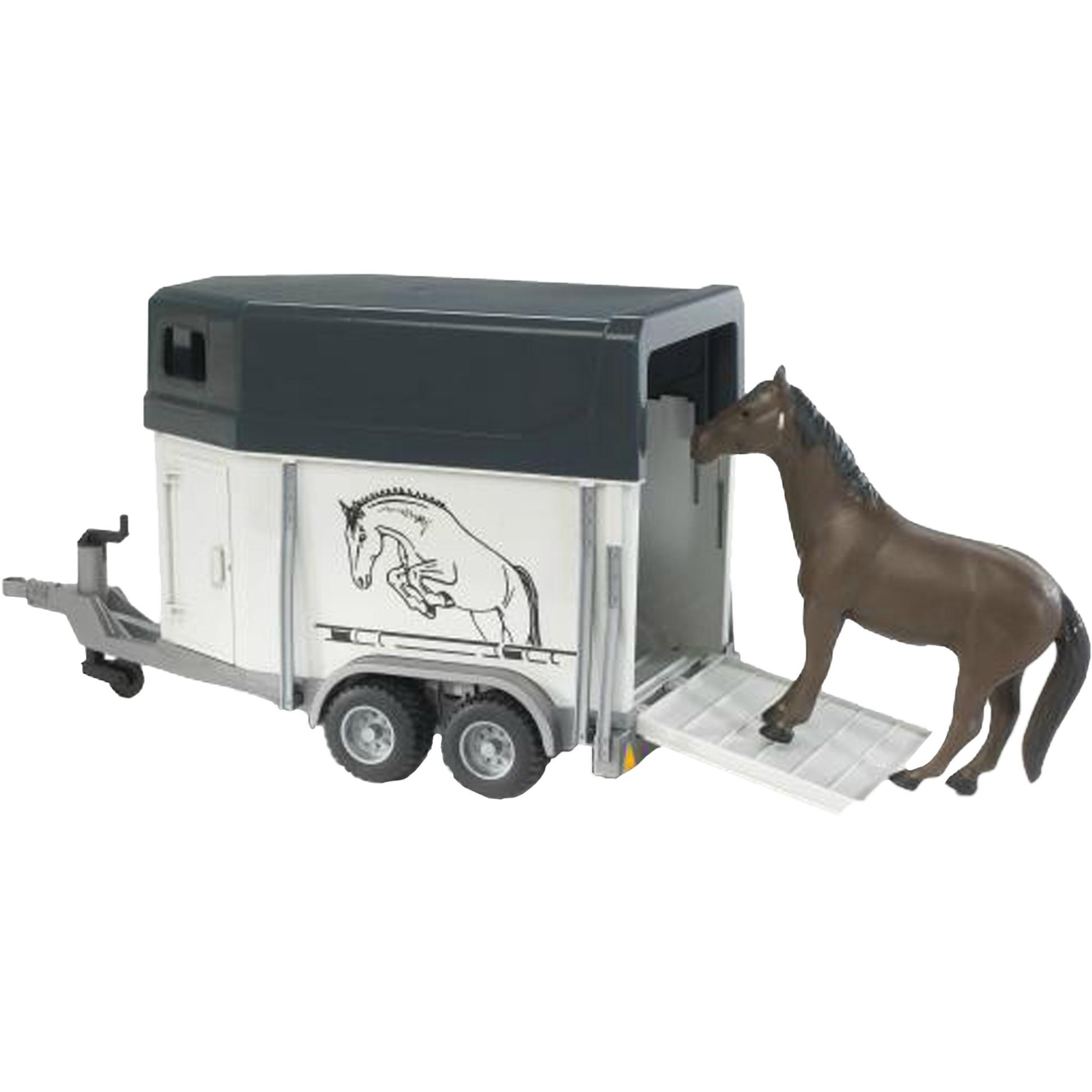 02028 modelo de vehículo de tierra Previamente montado Modelo a escala de camión/tráiler 1:16, Automóvil de construcción