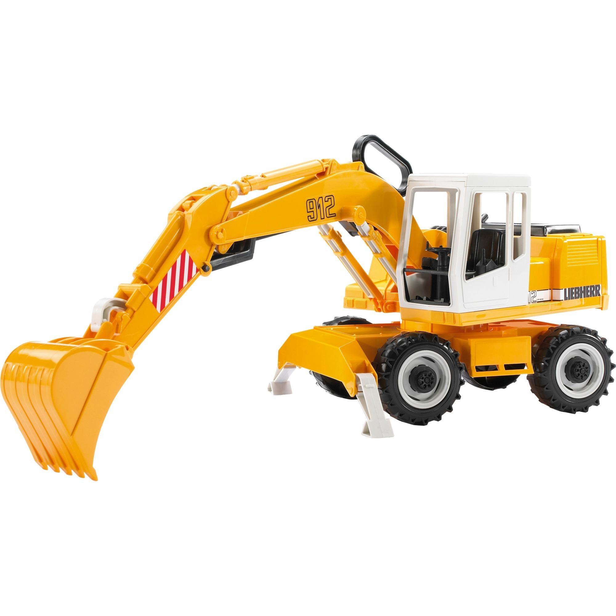 02426 De plástico vehículo de juguete, Automóvil de construcción