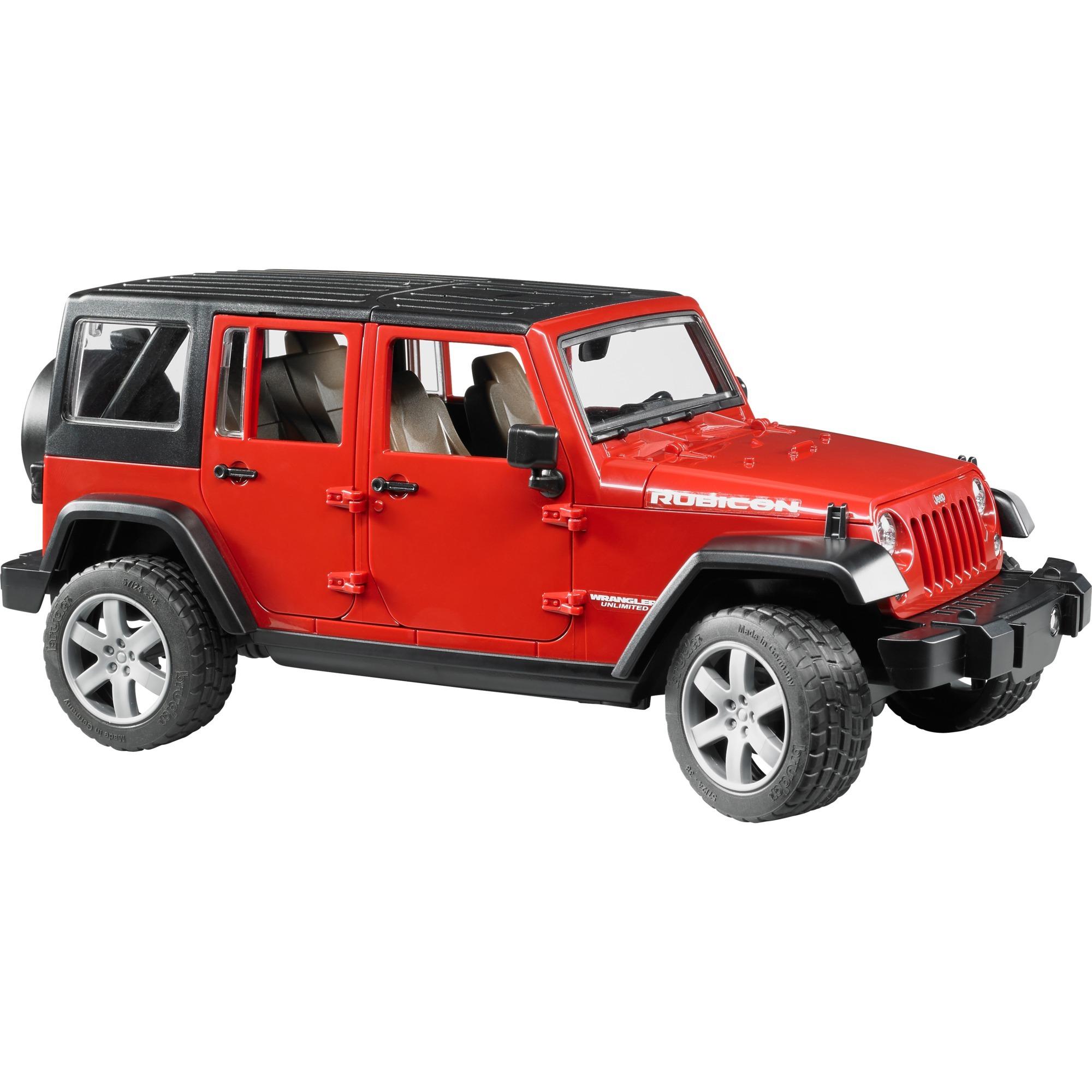02525 modelo de vehículo de tierra Previamente montado Modelo a escala de coche todoterreno 1:16, Automóvil de construcción