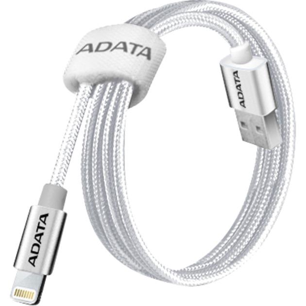 1m, USB 2.0-A/Lightning 1m USB A Lightning Titanio cable de teléfono móvil