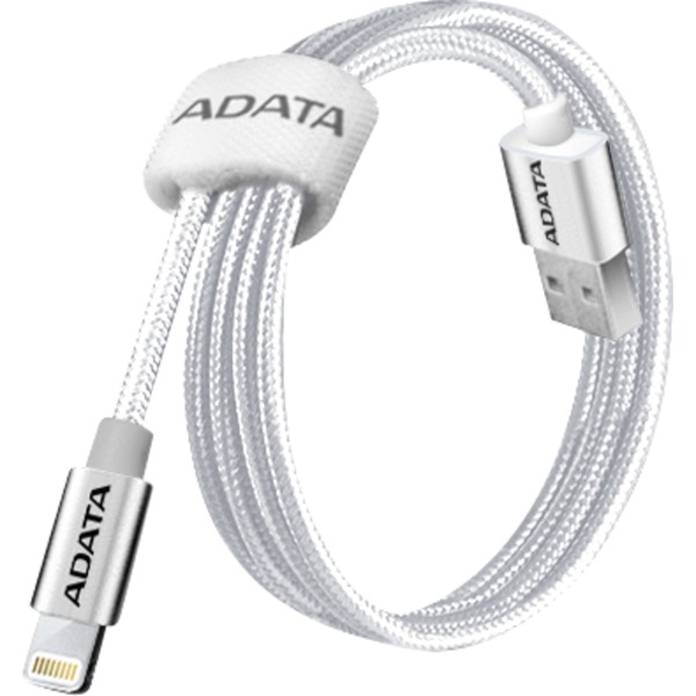 1m, USB 2.0-A/Lightning cable de teléfono móvil USB A Titanio