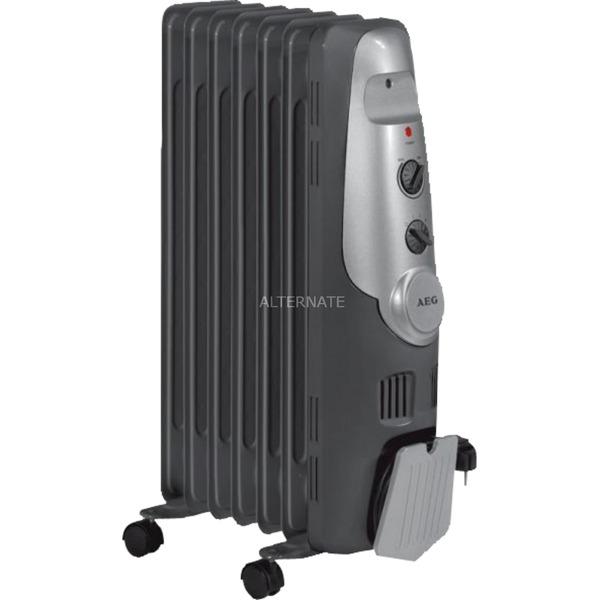 RA 5520 Radiador Negro, Plata 1500 W