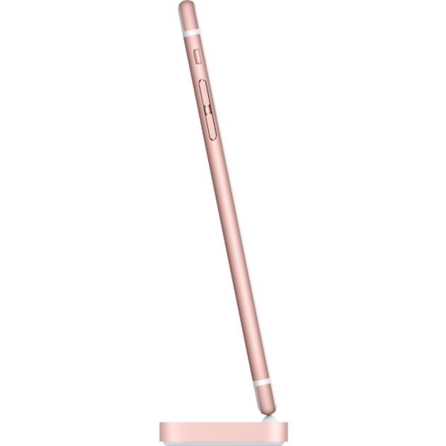 Base Dock Lightning para el iPhone - Oro rosa, Estación de acoplamiento