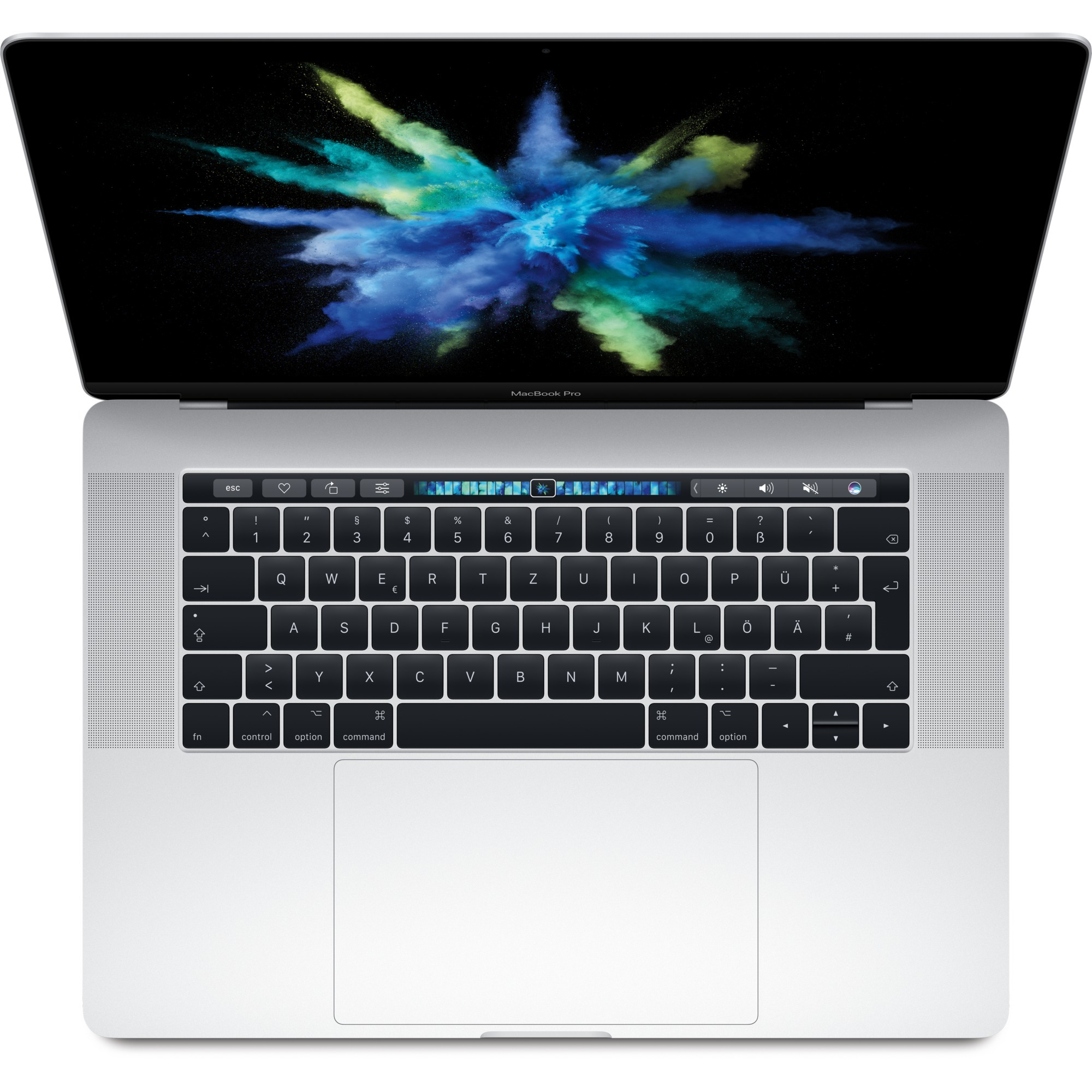 "MacBook Pro Plata Portátil 39,1 cm (15.4"") 2880 x 1800 Pixeles 2,2 GHz 8ª generación de procesadores Intel Core i7"