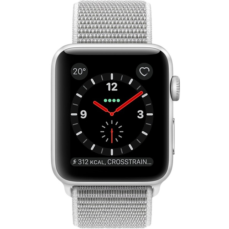 Watch Series 3 OLED GPS (satélite) Móvil Plata reloj inteligente, SmartWatch