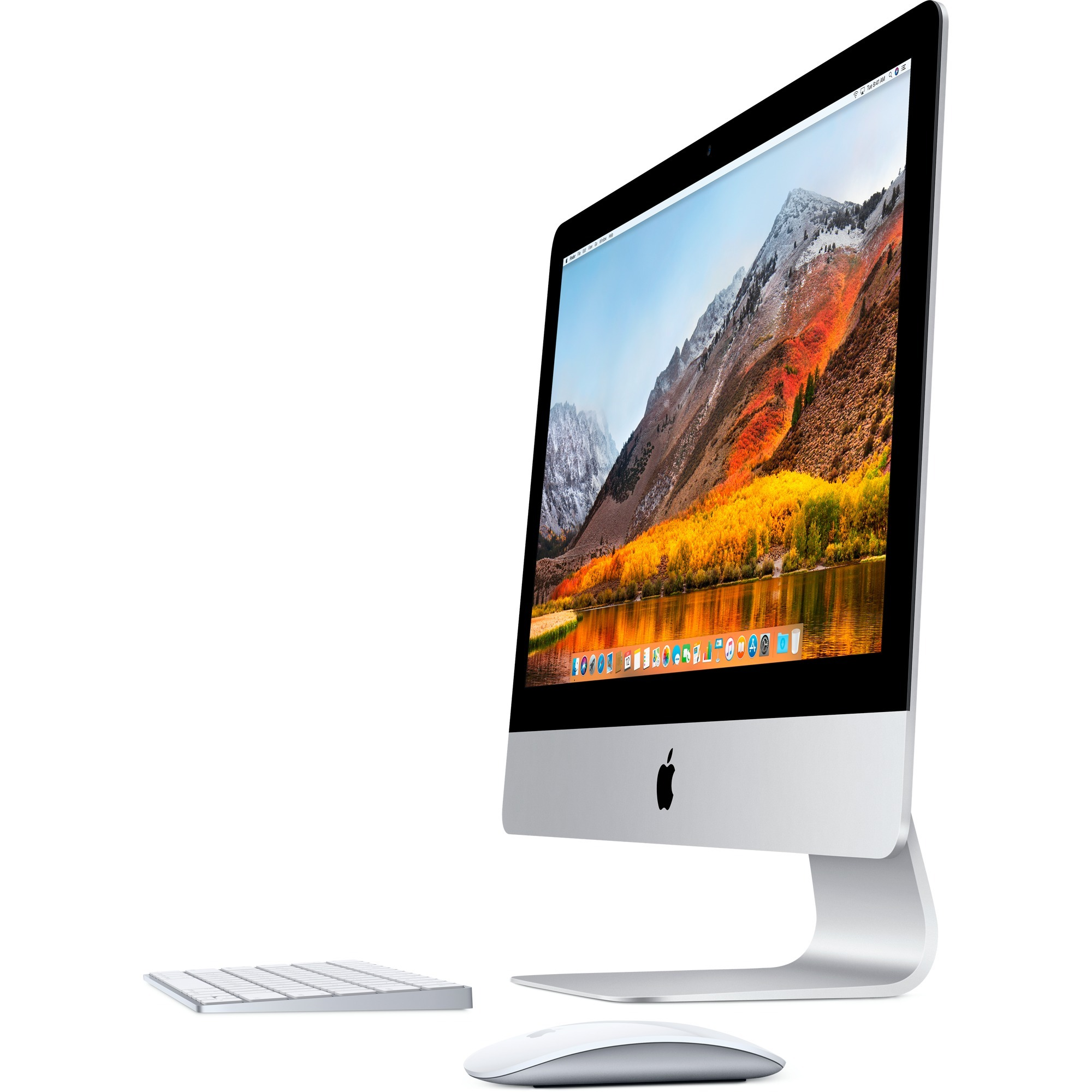 """iMac 54,6 cm (21.5"""") 4096 x 2304 Pixeles 3 GHz 7ª generación de procesadores Intel Core i5 Plata PC todo en uno, Sistema MAC"""