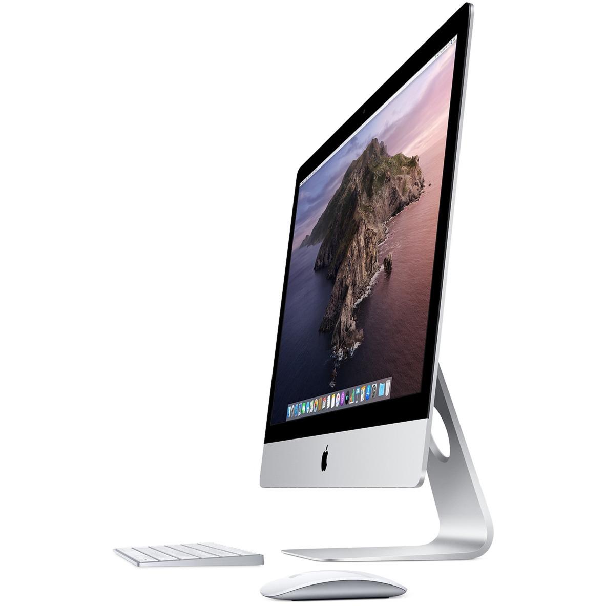 """iMac 68,6 cm (27"""") 5120 x 2880 Pixeles 8ª generación de procesadores Intel Core i5 8 GB DDR4-SDRAM 1000 GB Fusion Drive Plata PC todo en uno, Sistema"""