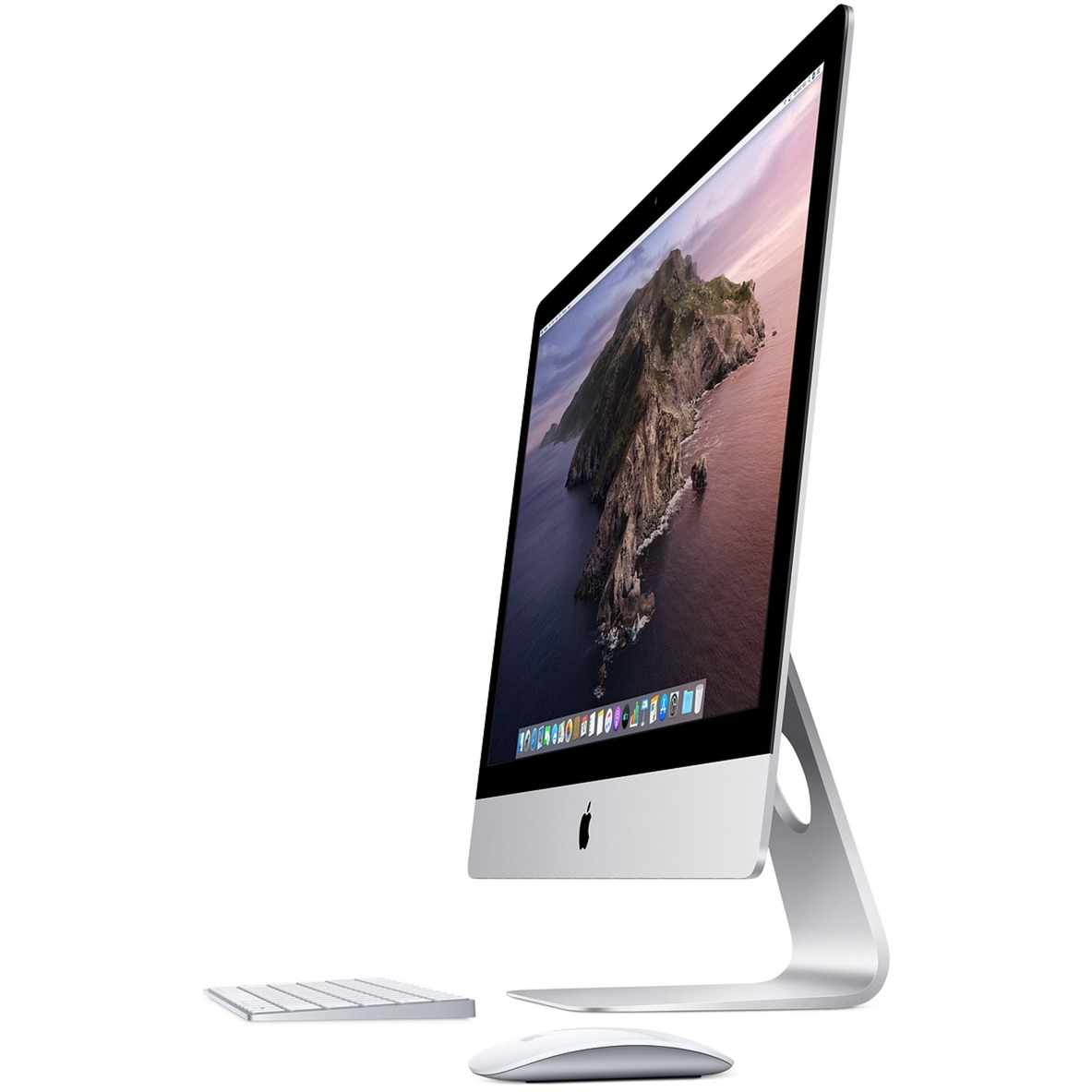 "iMac 68,6 cm (27"") 5120 x 2880 Pixeles 9th gen Intel Core i5 8 GB DDR4-SDRAM 2000 GB Fusion Drive Plata PC todo en uno, Sistema MAC"
