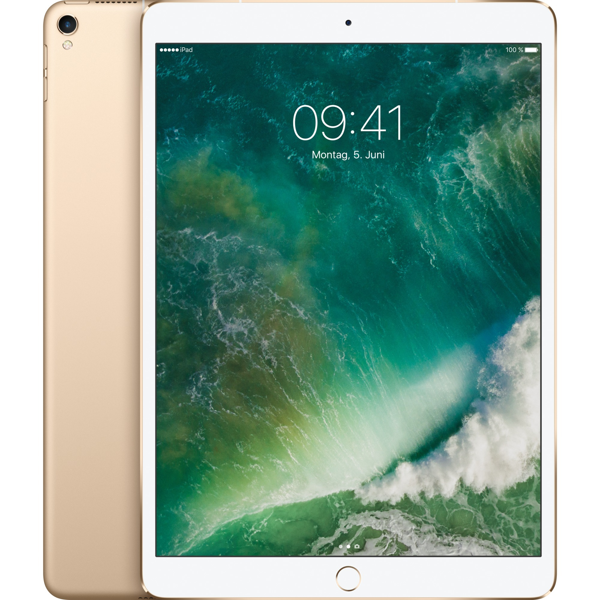 iPad Pro tablet A10X 512 GB 3G 4G Oro, Tablet PC
