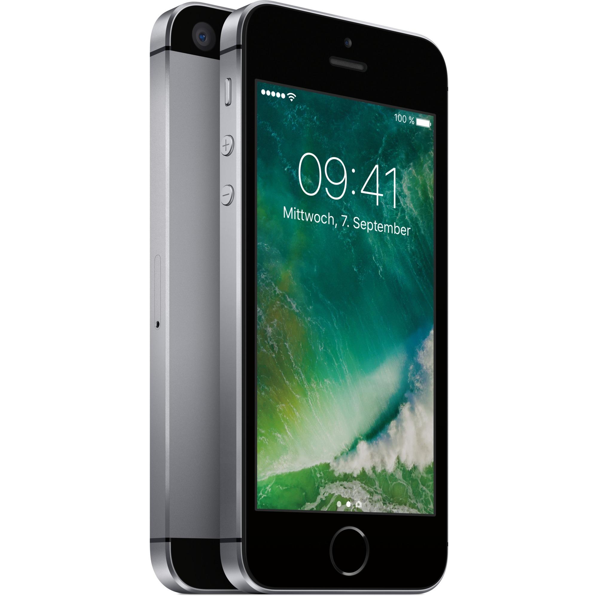 iPhone SE SIM única 4G 32GB Gris, Móvil