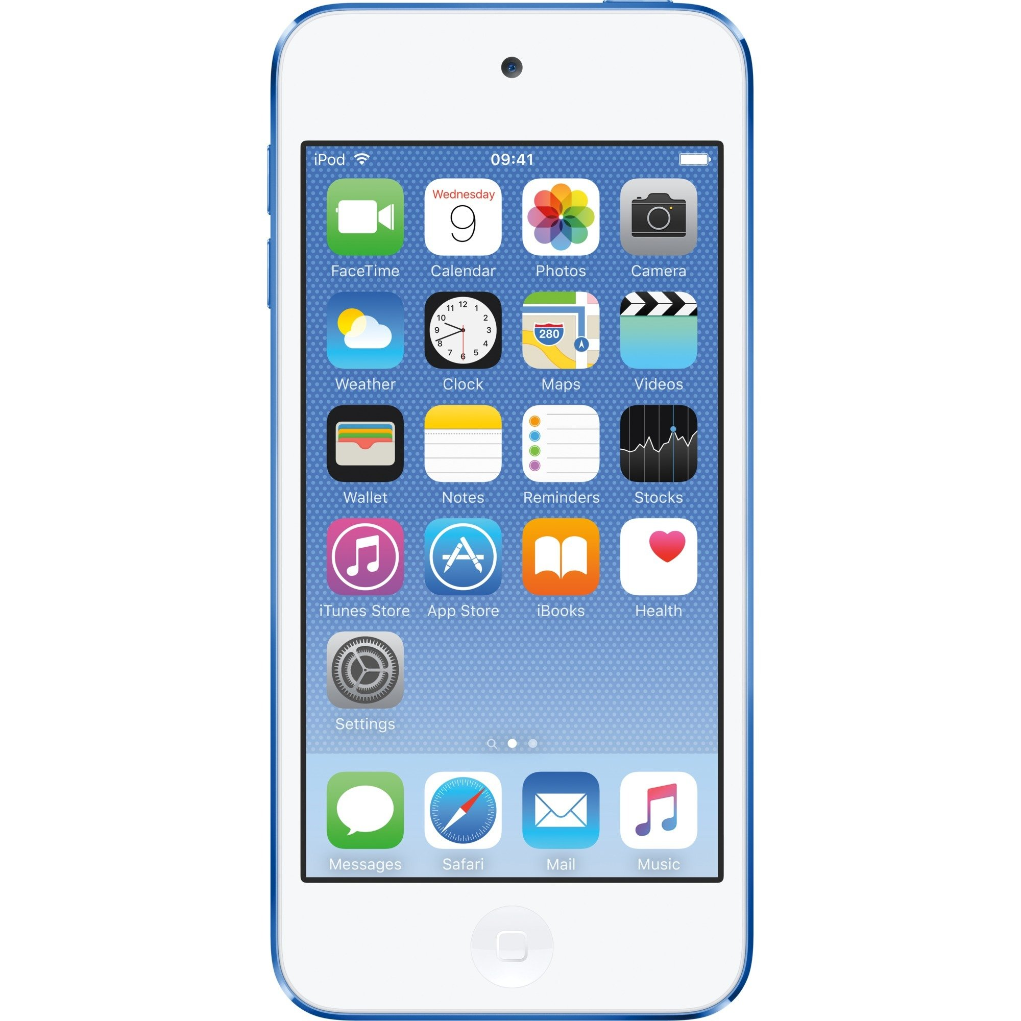 iPod touch 128GB Reproductor de MP4 128GB Azul, Reproductor MVP