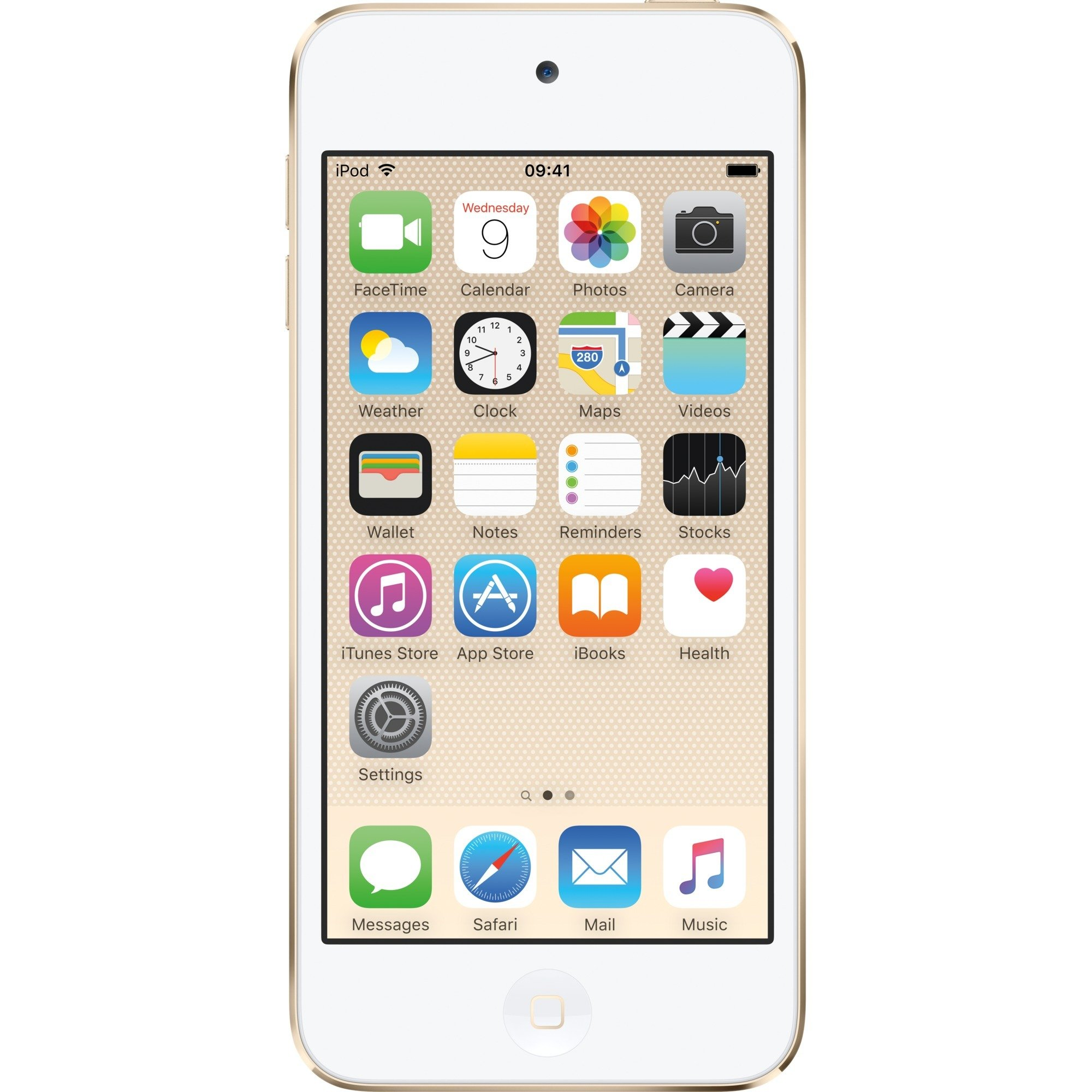 iPod touch 128GB Reproductor de MP4 128GB Oro, Reproductor MVP