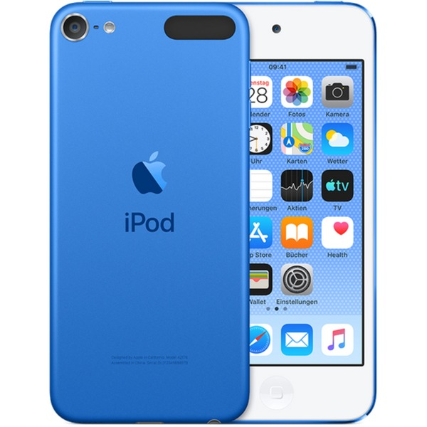 iPod touch 128GB Reproductor de MP4 Azul, Reproductor MVP