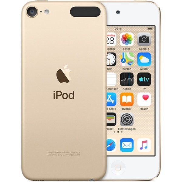 iPod touch 128GB Reproductor de MP4 Oro, Reproductor MVP