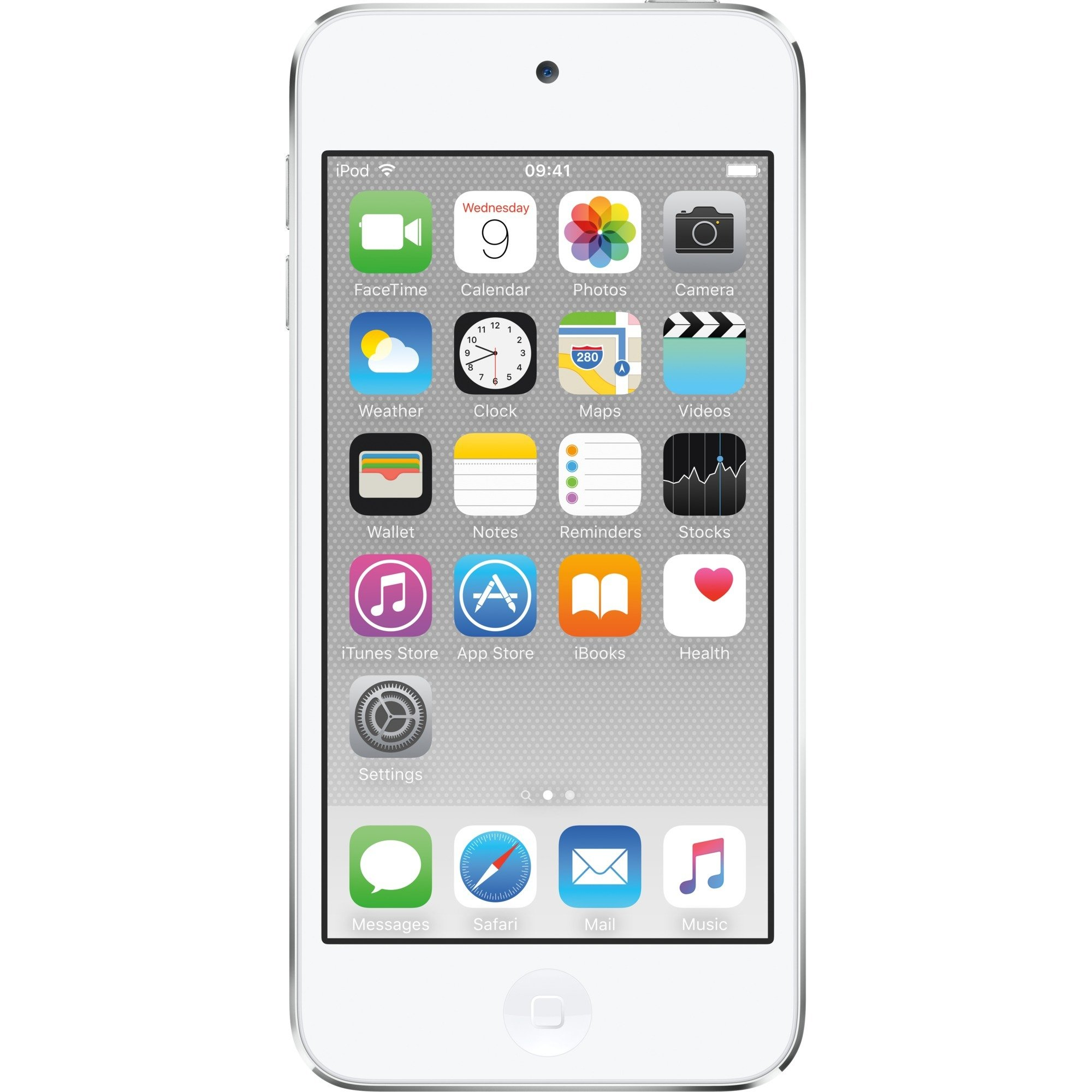 iPod touch 128GB Reproductor de MP4 Plata, Reproductor MVP