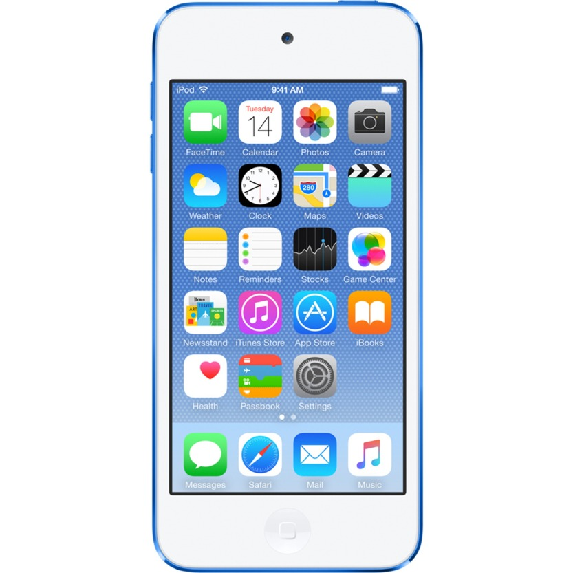 iPod touch 32GB Reproductor de MP4 32GB Azul, Reproductor MVP