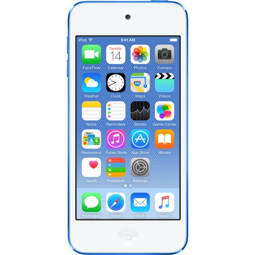 iPod touch 32GB Reproductor de MP4 Azul, Reproductor MVP