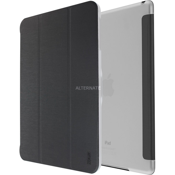 "SmartJacket 24,6 cm (9.7"") Folio Negro, Transparente, Funda protectora"