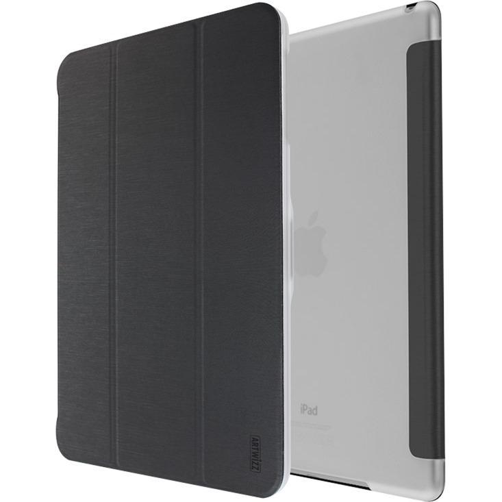 "SmartJacket 9.7"" Folio Negro, Transparente, Funda protectora"