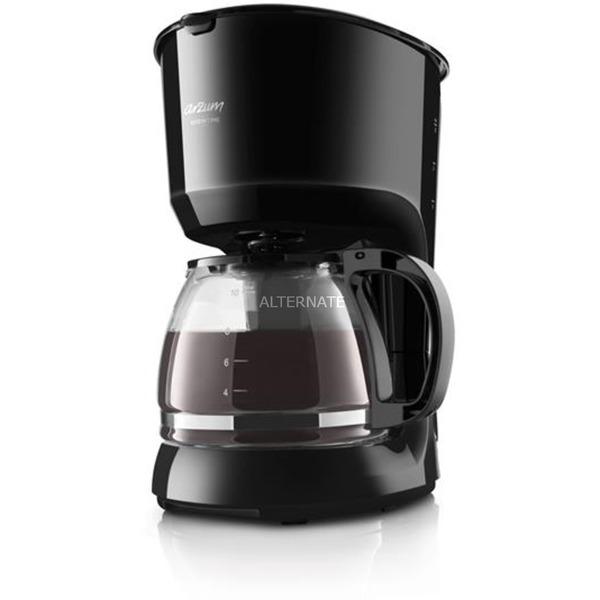 AR3046 Independiente Cafetera de filtro Negro 1,25 L 12 tazas Semi-automática