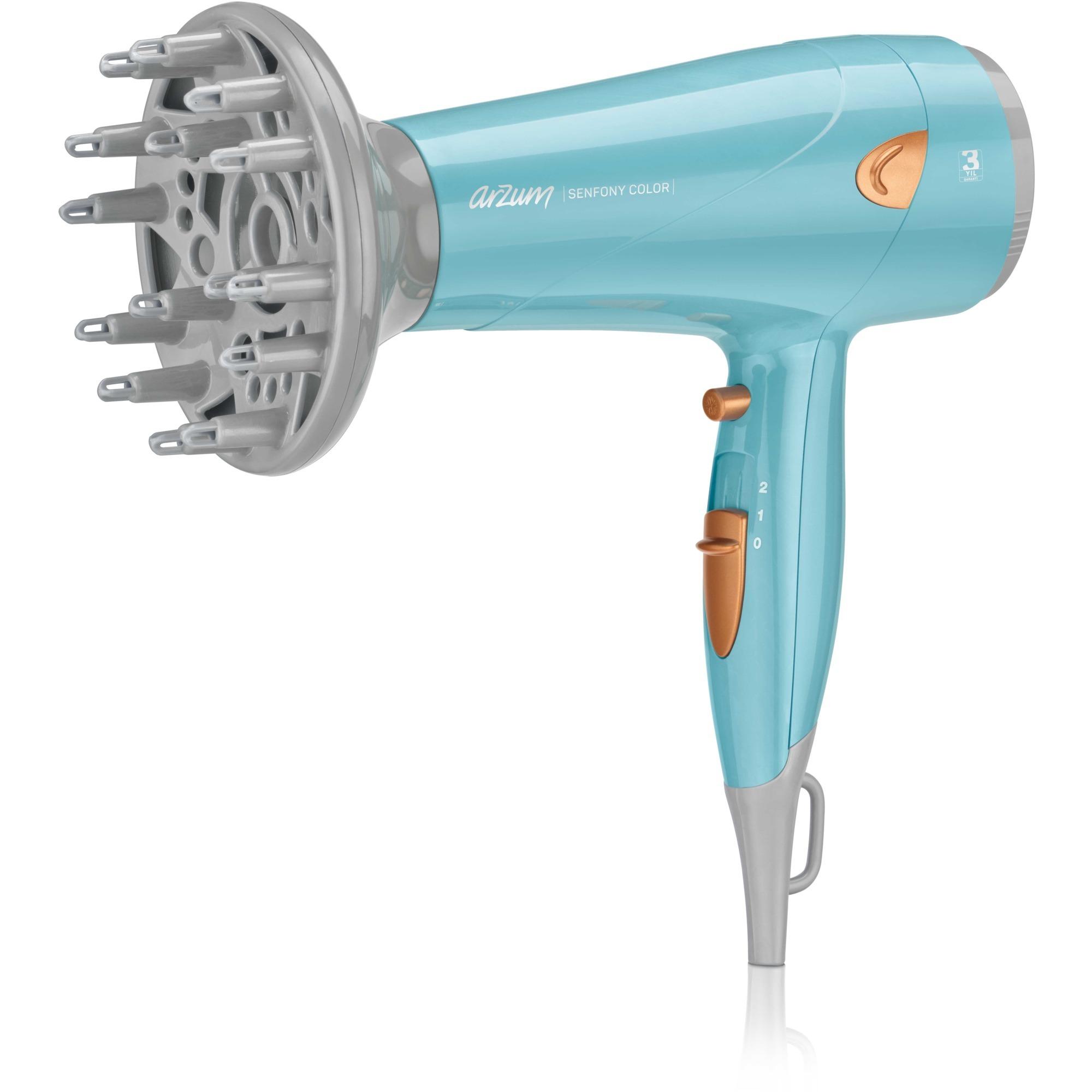 AR5014 secador Gris, Rosa 2000 W, Secador de pelo