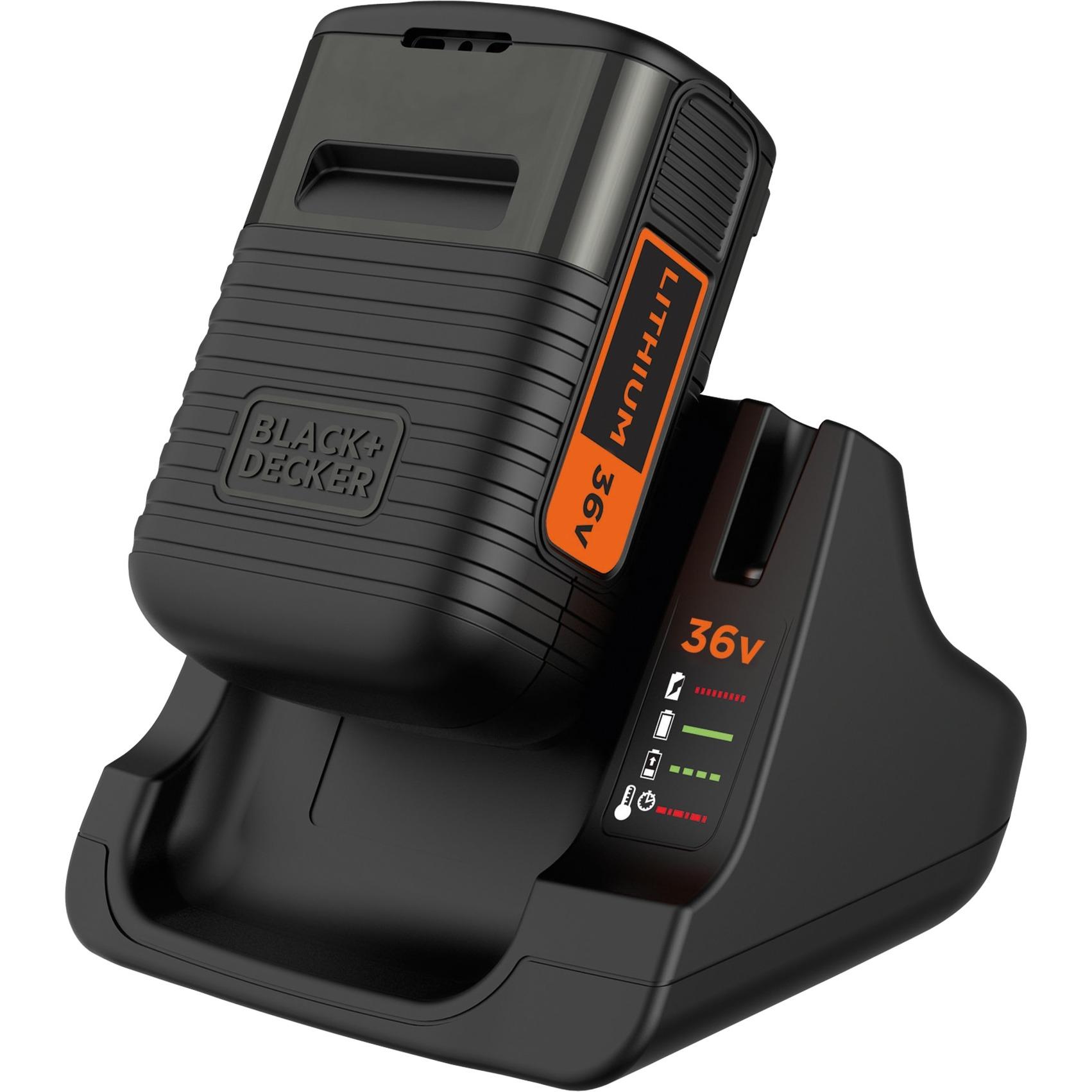 BDC2A36 Negro cargador de batería