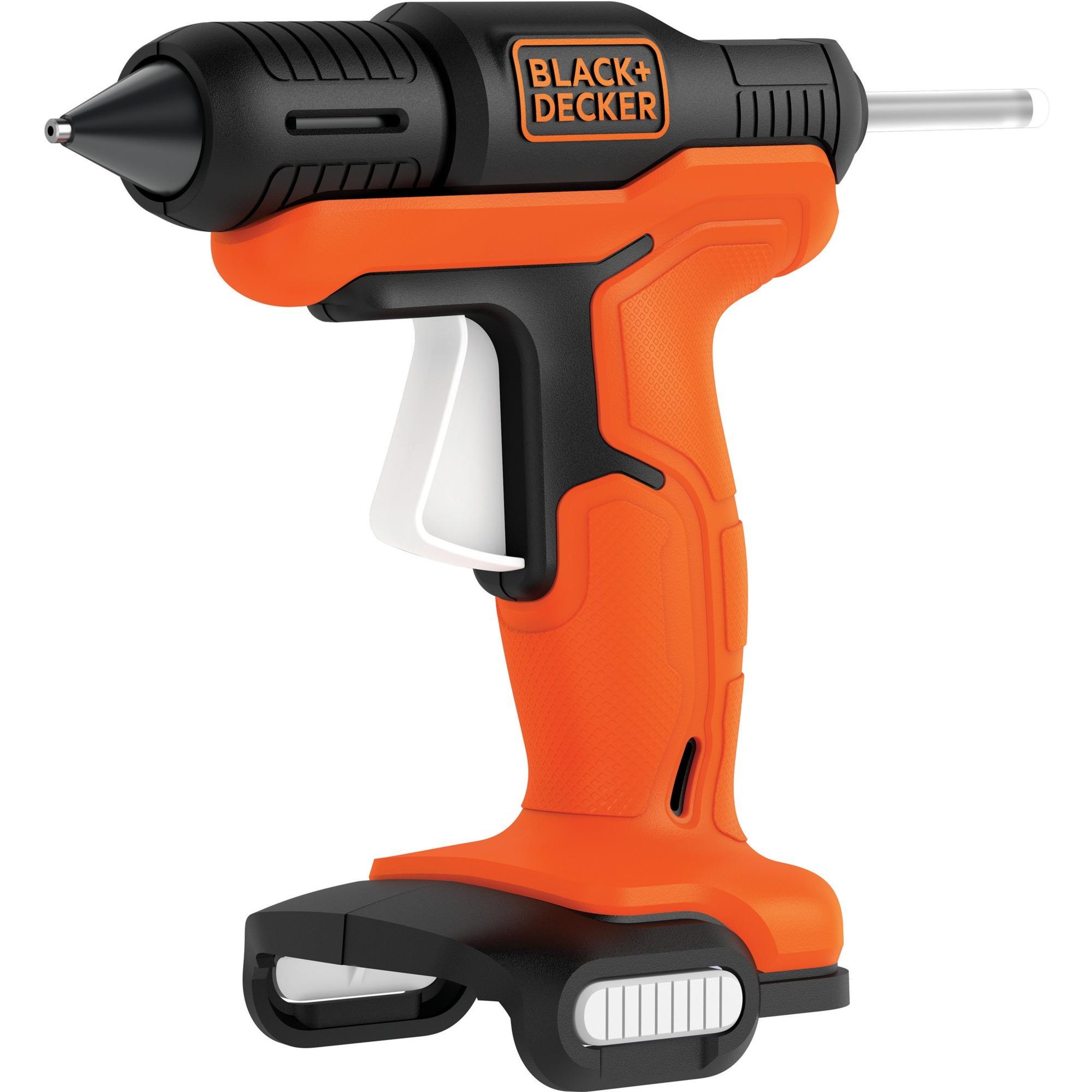 BDCGG12N hot glue gun/pen Negro, Naranja, Pistolas termoencoladoras