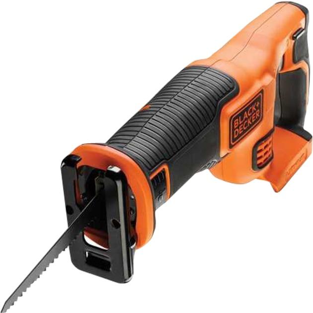 BDCR18 sierra de sable 2,2 cm Negro, Naranja