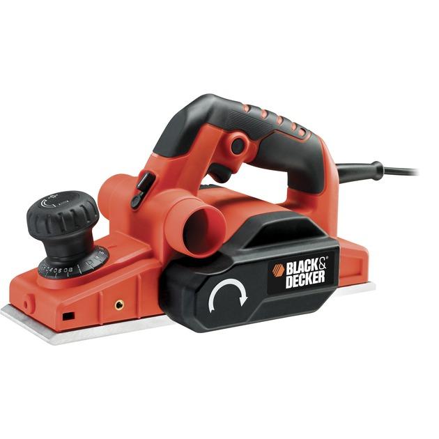 KW750K cepilladora eléctrica 750 W 16000 RPM Negro, Rojo, Cepillo eléctrico