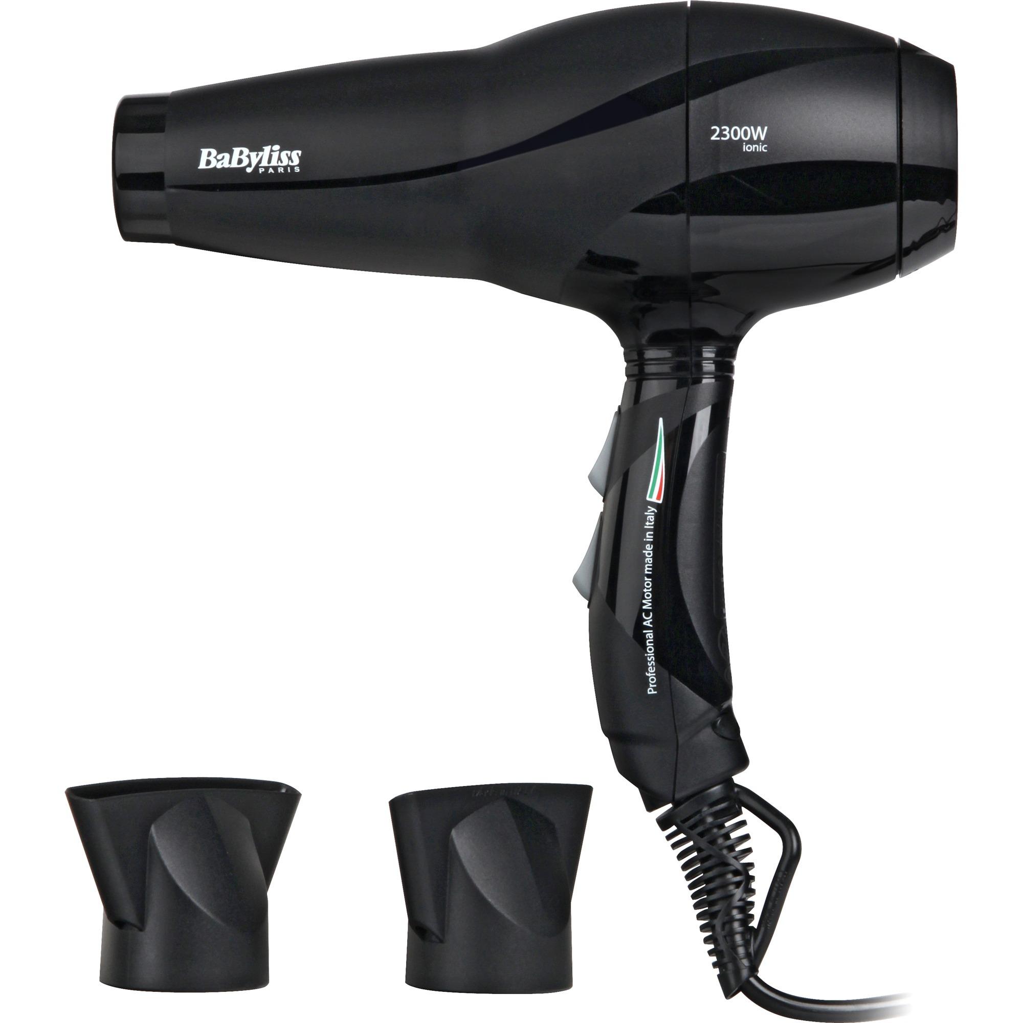 6614E 2200W Negro secador, Secador de pelo