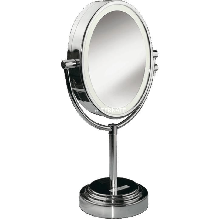 8437E espejo para maquillaje Acero inoxidable, Espejo de aumento