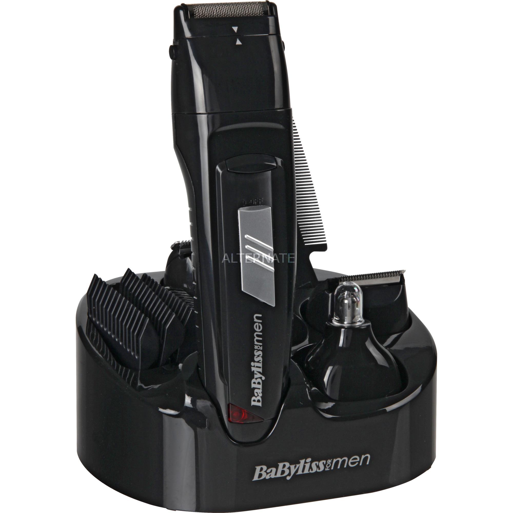 E824E Recargable Negro cortadora de pelo y maquinilla