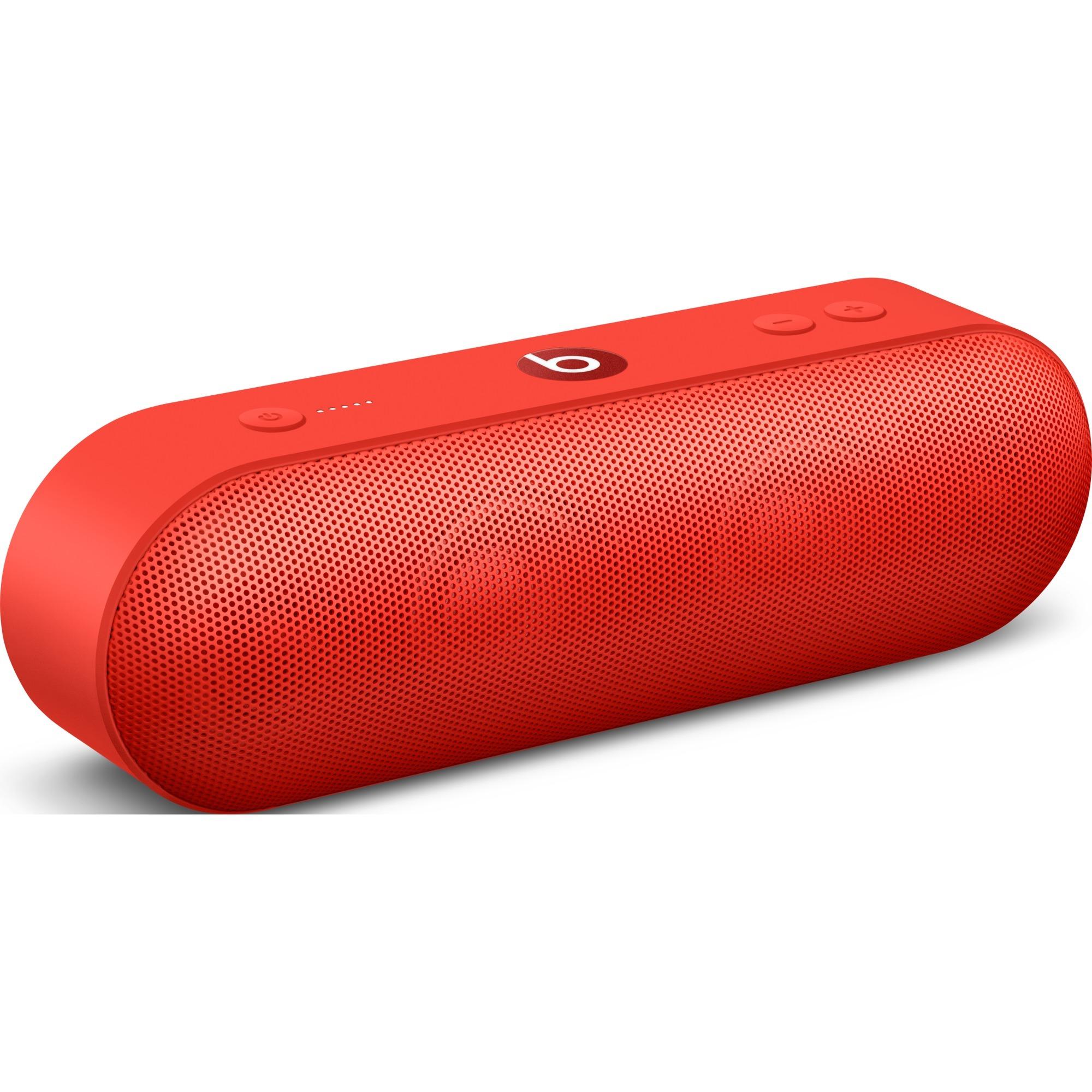 Beats Pill+ Stereo portable speaker Rojo, Altavoz