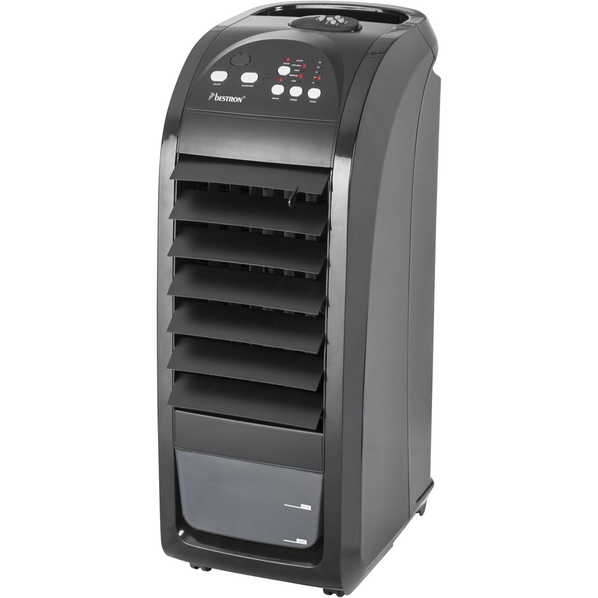 AAC5000 ventilador Ventilador tipo torre para el hogar Negro, Refrigerador de aire