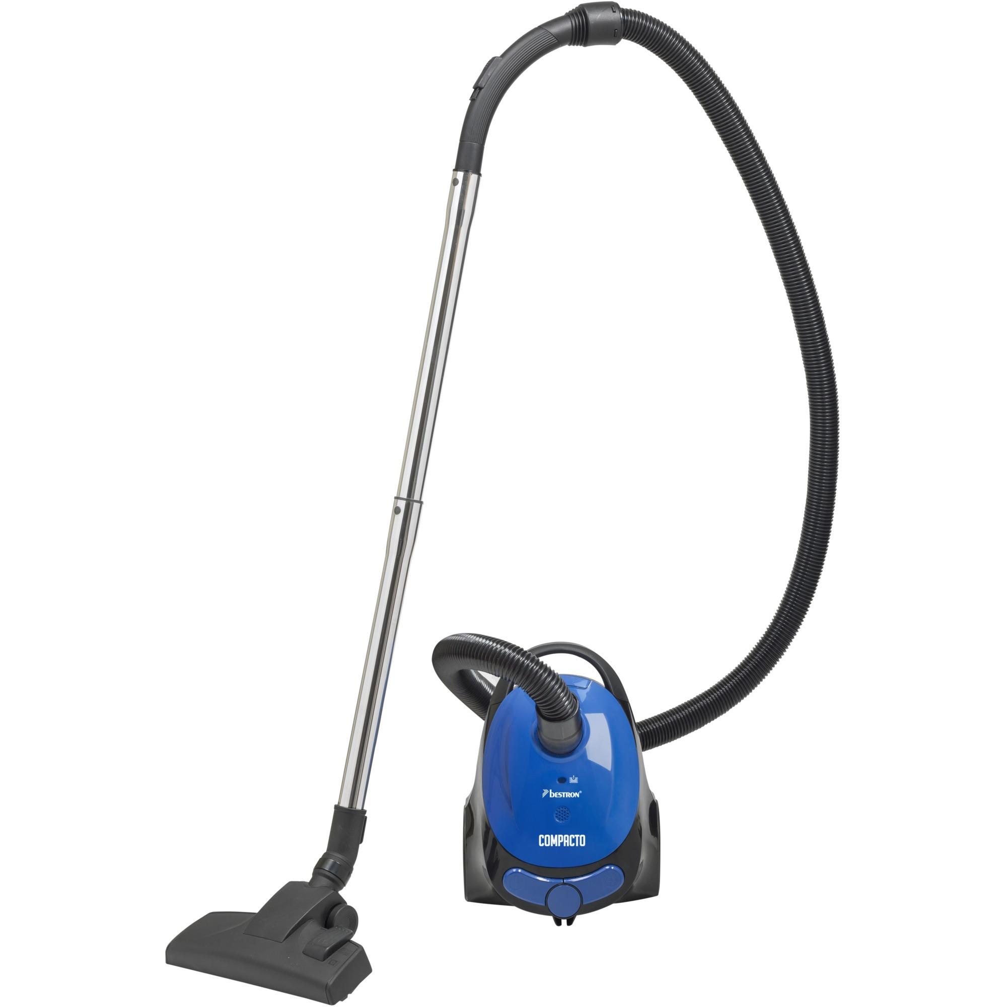 ABG150BB aspiradora 800 W A Aspiradora cilíndrica 1,3 L Negro, Azul, Aspiradora de suelo