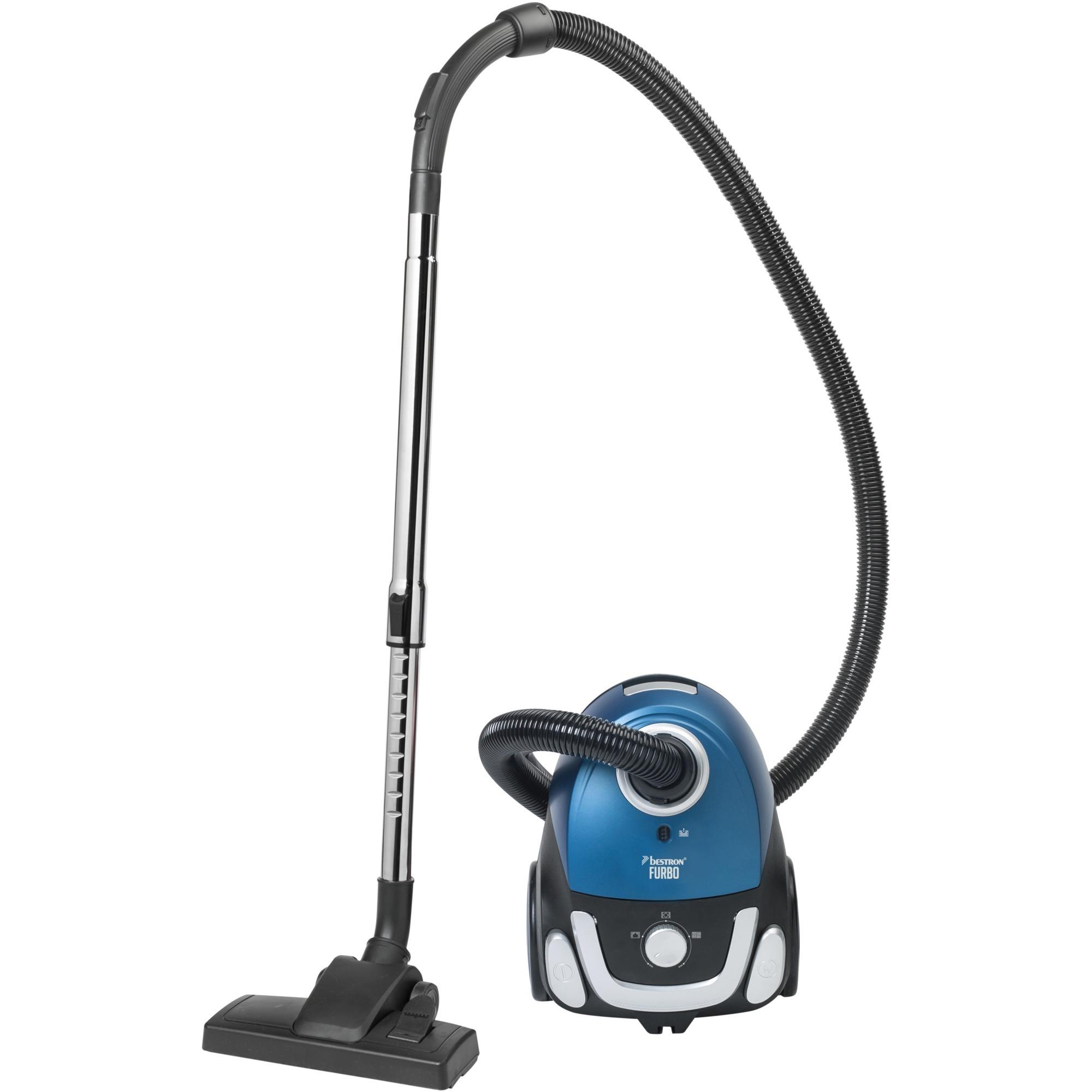 ABG450BSE aspiradora 750 W Aspiradora cilíndrica 1,1 L Negro, Azul, Aspiradora de suelo