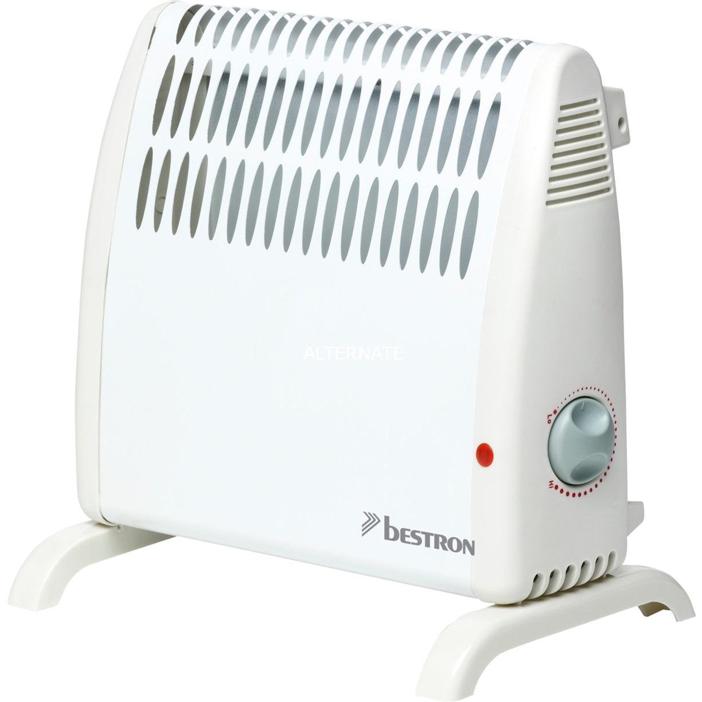 ABH401 calefactor eléctrico Radiador Blanco 500 W, Termoventiladores