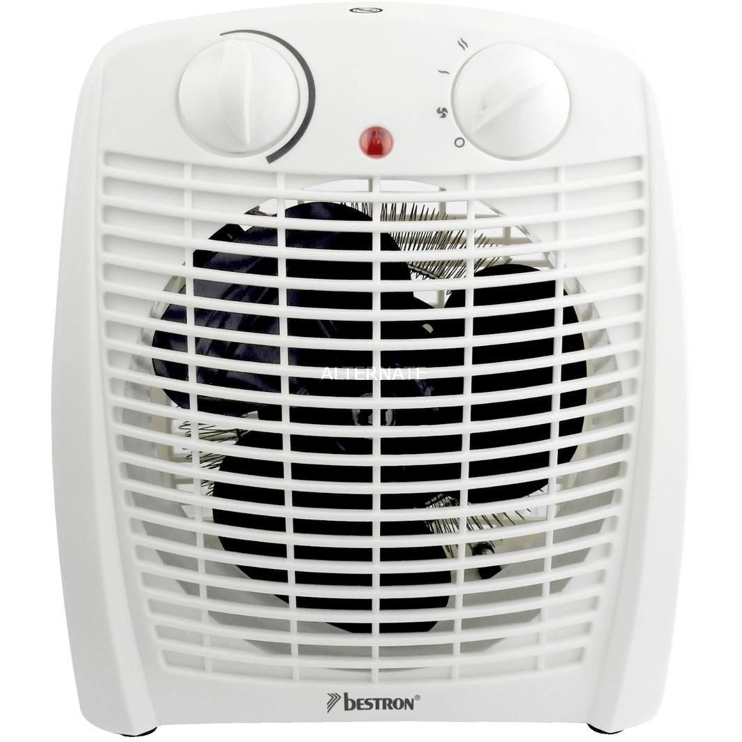 AFH211W calefactor eléctrico Calentador de ventilador Interior Blanco 2000 W, Termoventiladores