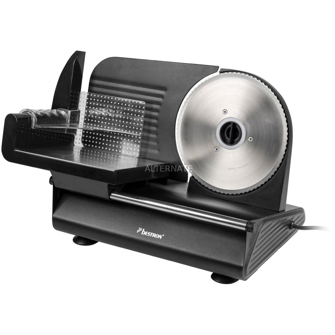 AFS9003 rebanadora Eléctrico Negro Metal 150 W, Cortatodo