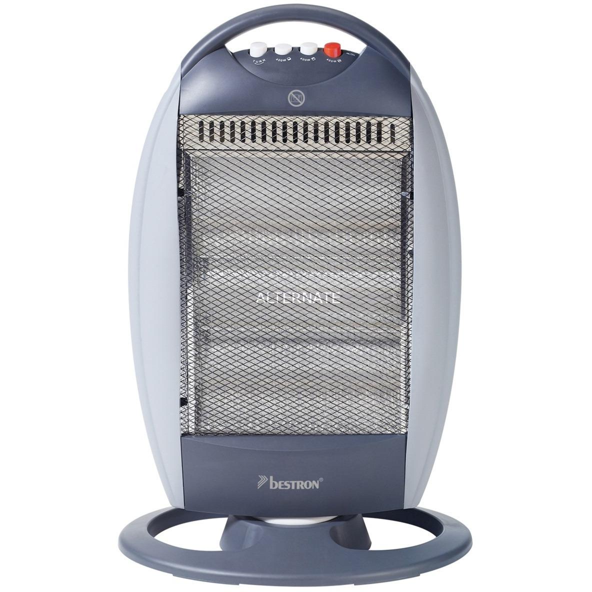 AHH1200 calefactor eléctrico Calentador infrarrojo Gris, Acero inoxidable 1200 W, Calentador radiante