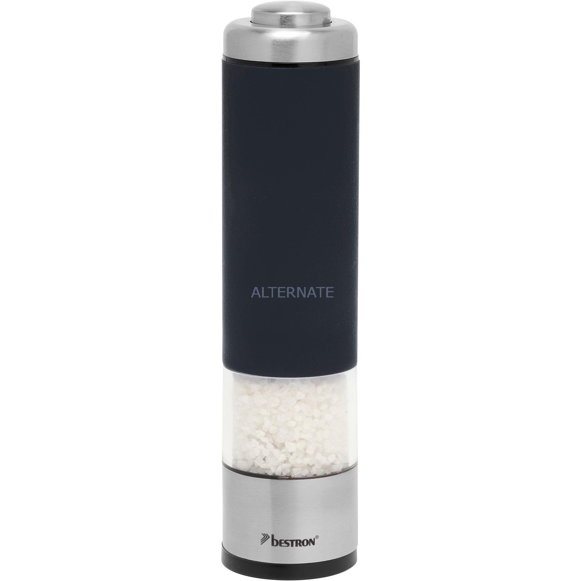 APS526Z Negro molinillo de especias, Molinillo de pimienta/sal