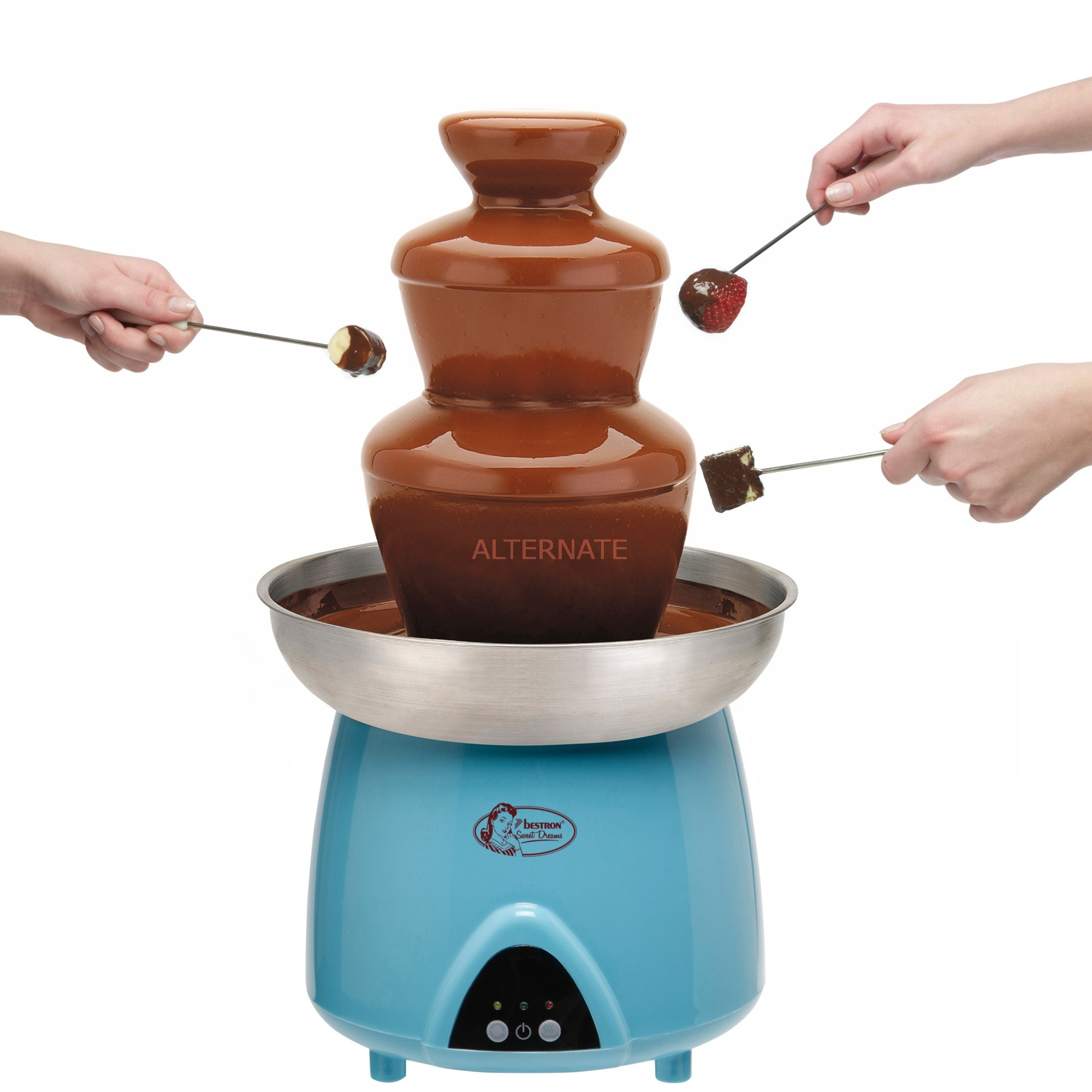 DUE4007 chocolate fountain chocolateras, Fuente de chocolate