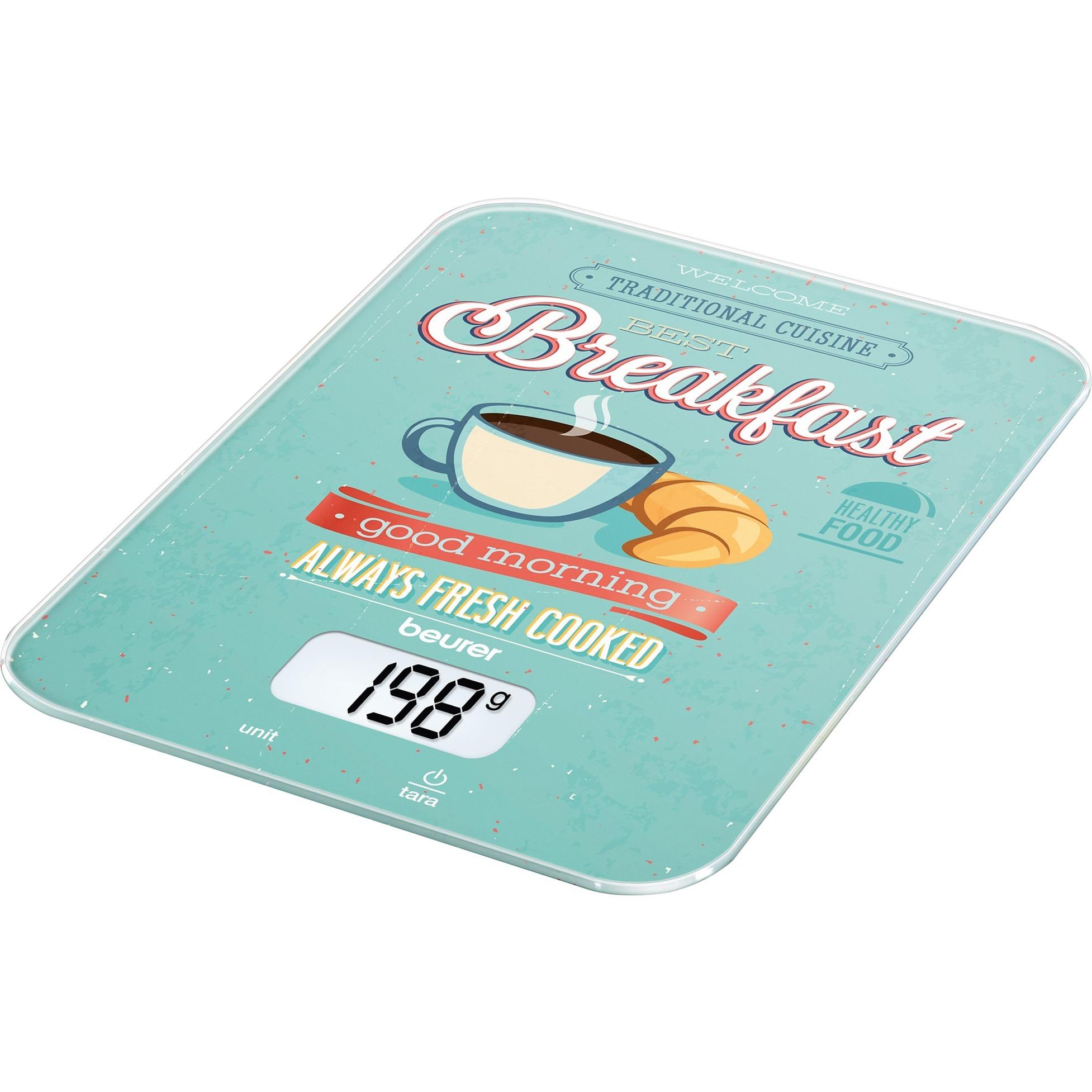 KS 19 Breakfast, Balanza de cocina