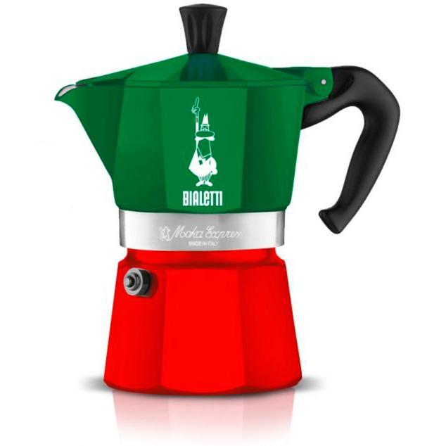 Moka Express Tricolore 5323, Cafetera espresso